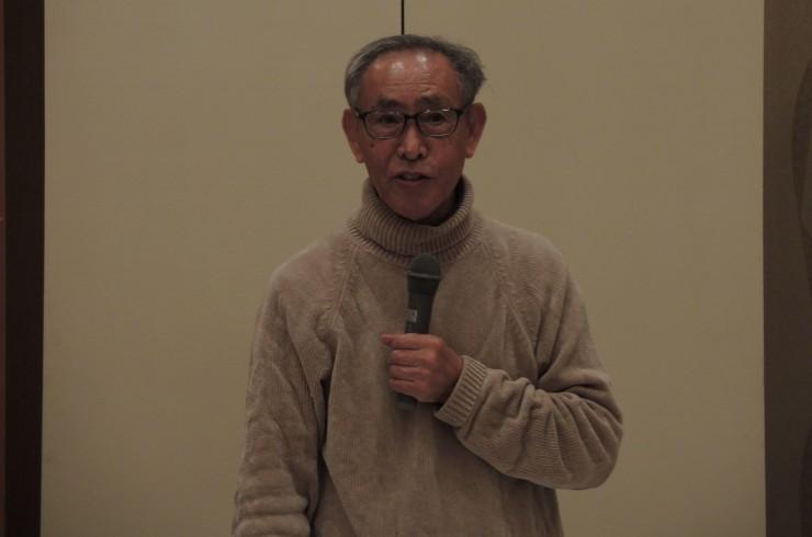河田昌東さんの講演