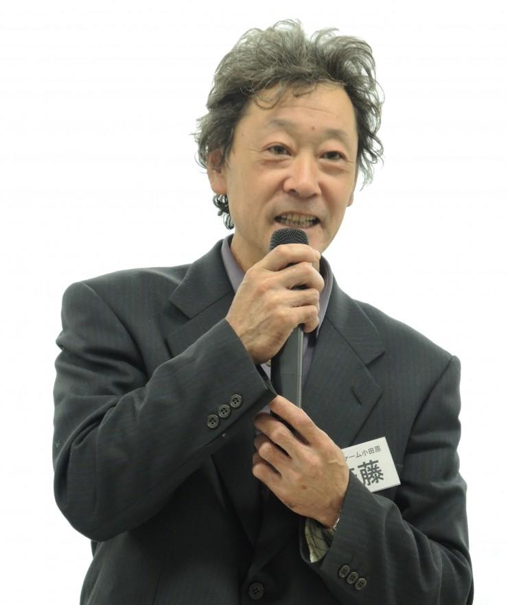 生産者ジョイファーム小田原の斉藤徳雄さん