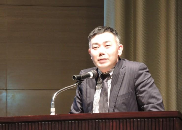 庄内協同ファーム高橋直之さんが登壇