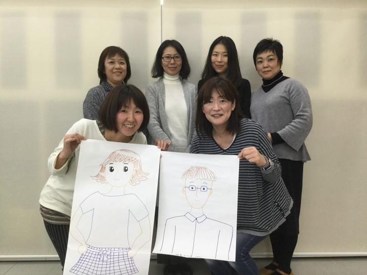 パルシステム福島組合員商品開発チーム, チョコっと「オ・ト・ナ」のみなさん イラストは利用モデルイメージ・40代夫婦