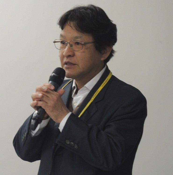 市民電力連絡会会長の竹村英明さん