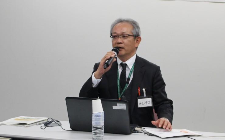 パルシステム茨城地域活動推進部 君嶋義之部長