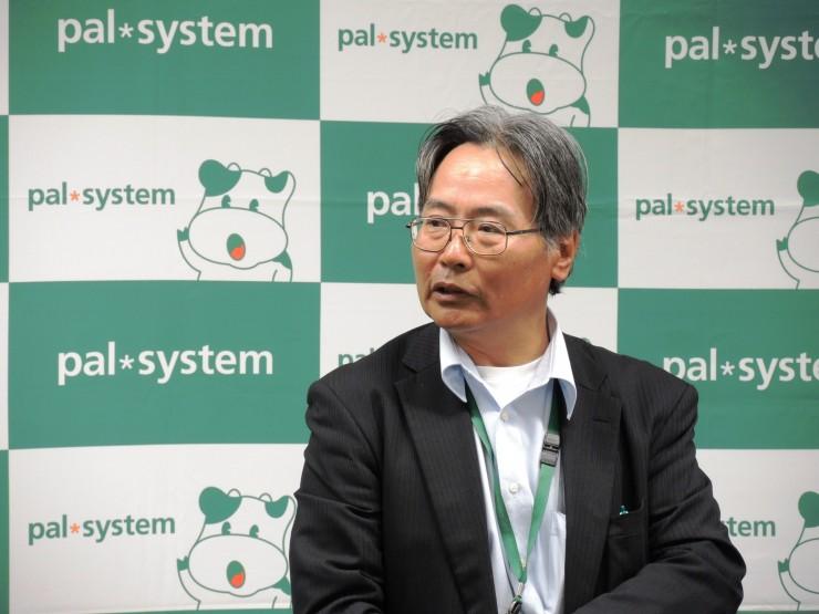 環境キャンペーンについて報告する高橋広報本部長