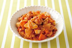 豚と根菜のトマト煮