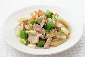 豚肉と野菜のさっぱり炒め