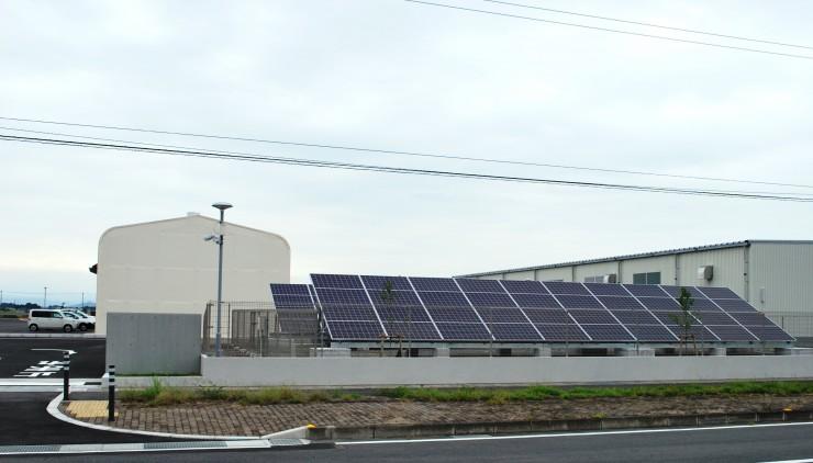 太陽光発電を導入しました