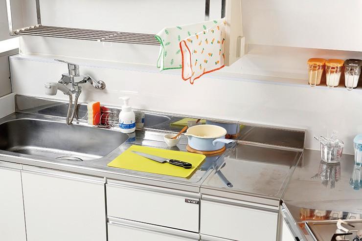 スポンジやまな板、ふきんなどの選び方・使い方は、キッチンの衛生を保つカギ
