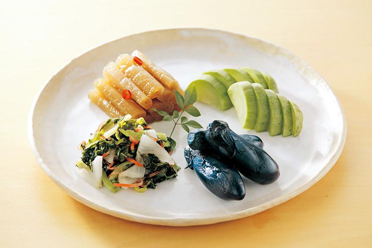 浅漬け、なら漬け、ぬか漬けなど、日本の漬け物は種類もたくさん